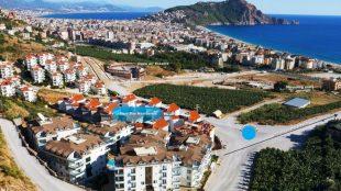 Ferieboliger og steder at bo  i Alanya Tyrkiet